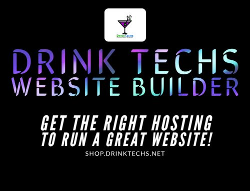Drink Techs Website Builder